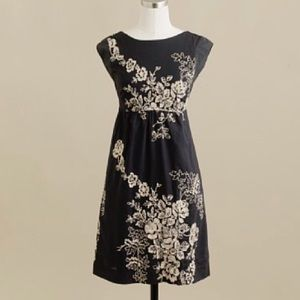 J. Crew Mirable Embroidered Dress